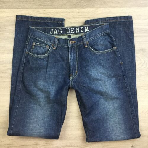 Jag Denim Newcastle Relaxed Fit Men's Jeans Size 30 EUC (N12)