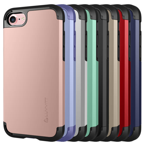 Luvvitt Ultra Armor Dual Layer Case for iPhone SE 2020 / iPhone 7 and 8