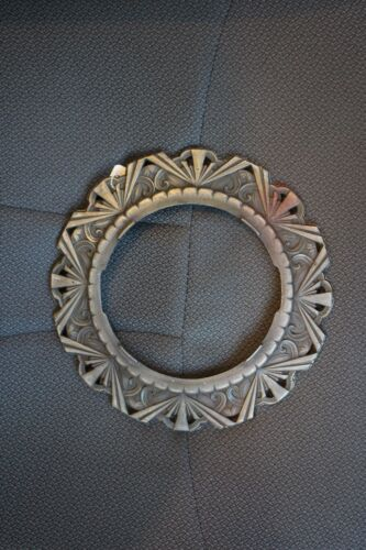 Art Deco Ceiling light fixture sconce trim ring