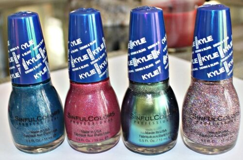 Kylie SinfulColors Denim & Bling Collection Nail Polish, Buy 2 Get 3rd 50% OFF