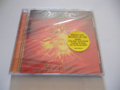 """Dokken """"Live from the Sun"""" USA cd 2000 New Factory Sealed"""