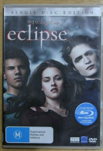 The Twilight Saga - Eclipse (DVD, 2010)    -   VGC Pre-owned (D48)