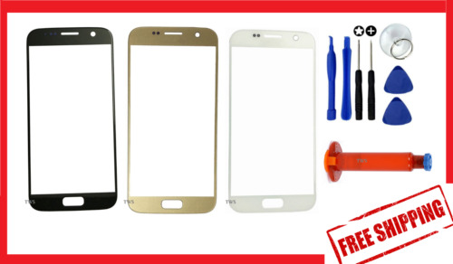 Original Outer Front Glass Screen Replacement For Samsung Galaxy S6 S7 S8 + Plus
