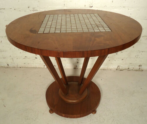Mid-Century Modern Tile Top Table (2097)NS