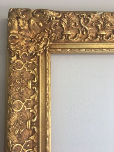 Amazing Frame Baroque Ornate Wood Gold For Picture Mirror Antique Painting 24x36