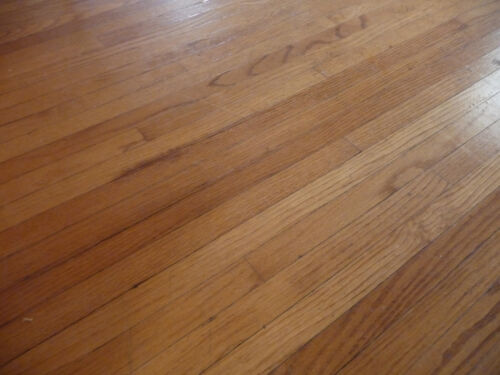 """Antique 1 1/2"""" Oak Flooring - C. 1898 Tongue and Groove Architectural Salvage"""