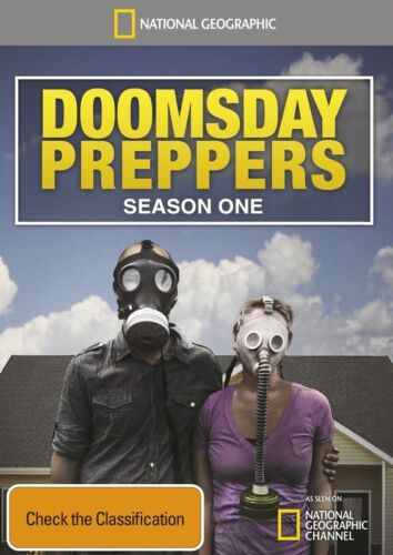 National Geographic - Doomsday Preppers : Season 1 (DVD, 2013, 3-Disc Set)R4