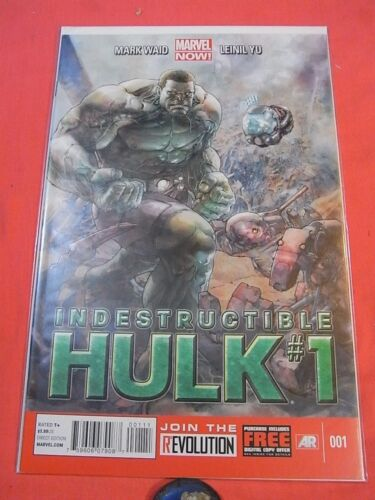 The Indestructible HULK #1 - Marvel NOW - bagged & boarded  (2012)