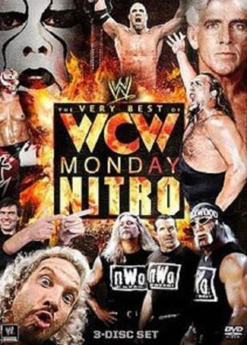 The WWE - Very Best Of WCW Monday Nitro (DVD, 2011, 3-Disc Set) - Region 4
