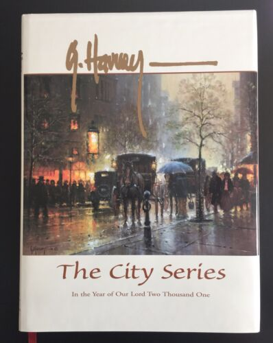 G. Harvey City Series Hard Cover Book