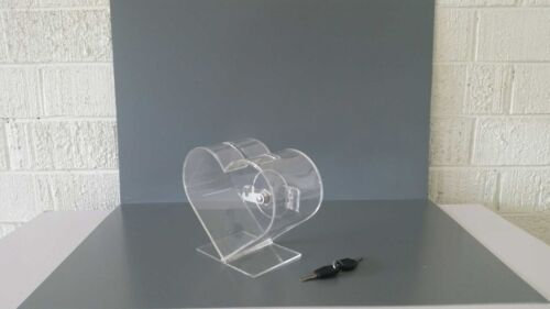 Custom Made Heart Shape Collection And Donation Box