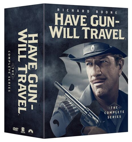 """HAVE GUN WILL TRAVEL COMPLETE SERIES COLLECTION DVD BOX SET 35 DISCS """"NEW"""""""