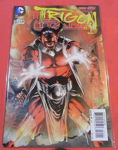TEEN TITANS #23.1  TRIGON 2D cover - New 52 - bagged & boarded .! (2011)