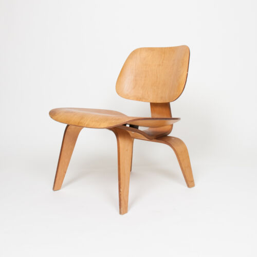 Eames Evans Herman Miller Early 1947 LCW Plywood Lounge Chair Original Ash 5-2-5