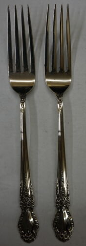 INTERNATIONAL STERLING BROCADE STERLING SILVER FORKS 99.9 GRAMS