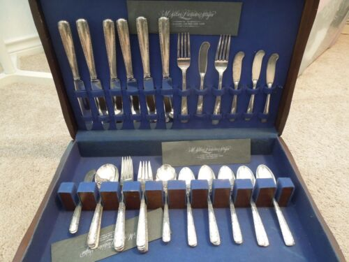 Camellia by Gorham Sterling Silver Flatware Set 41 Pieces Dinner Size Monogram M
