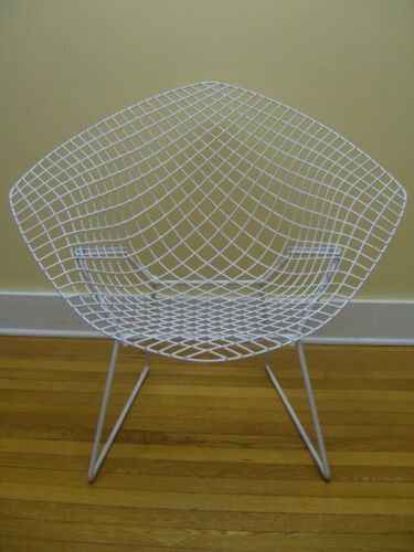 Mid Century Modern Harry Bertoia Iron Diamond Chair c. 1960