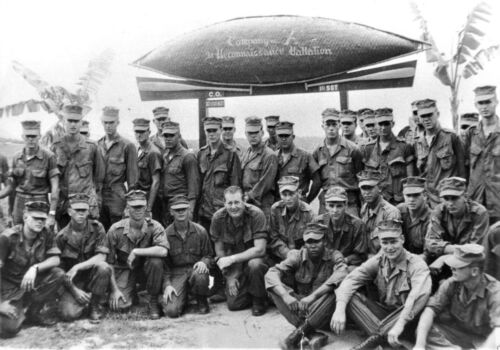 Vietnam War U.S Army Band Of Brothers Covert Recon Patrol Old 1967 8.5x11 Photo
