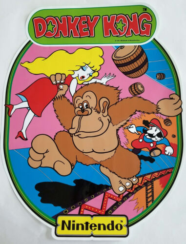 Top Holiday Gifts DONKEY KONG SIDE ART SET - THE BEST - PERFECT!