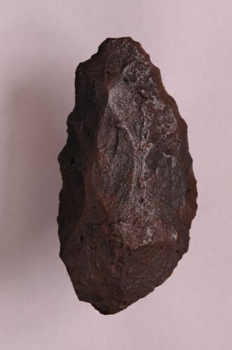 NEANDERTHAL, MOUSTERIAN BLADE, KNIFE, AXE, TOOL, PALEO, Ebro River Valley, Spain