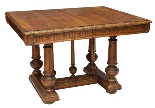 ITALIAN EXTENSION DINING TABLE, 19th century ( 1800s )