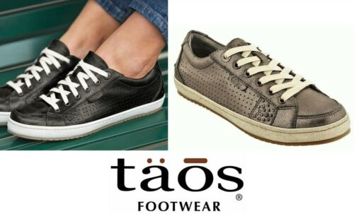 Taos Shoes Leather comfort walking shoes lace up sneakers Taos Footwear Freedom