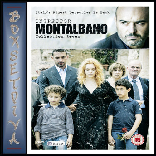 INSPECTOR MONTALBANO - COMPLETE COLLECTION 7   *BRAND NEW DVD**