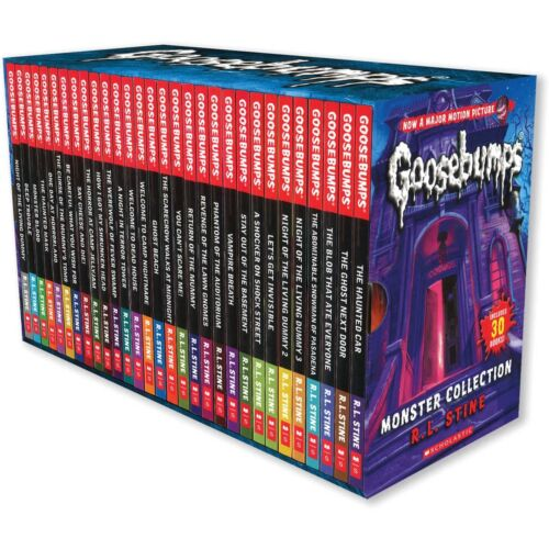 Goosebumps Classic Collection 1-30 Monster Book Set by R. L. Stine Brand New