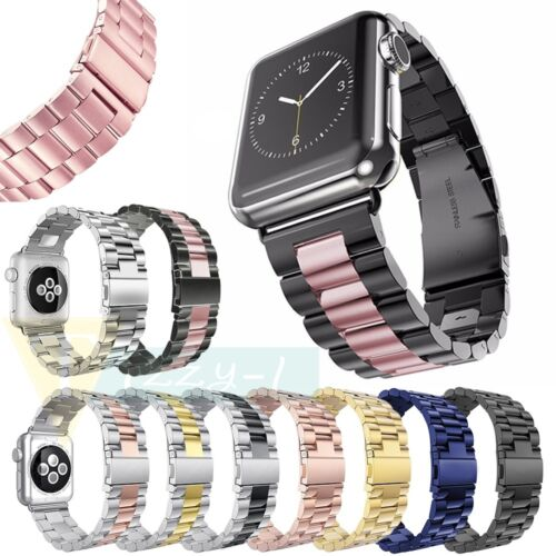 New Stainless Steel Watch Bands Strap For Apple Watch iWatch Series 2/1 38mm/42m