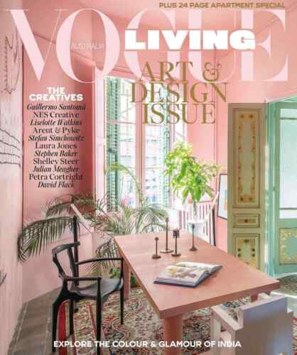 Vogue Living Australia Magazine May / June 2018 ART & DESIGN ISSUE