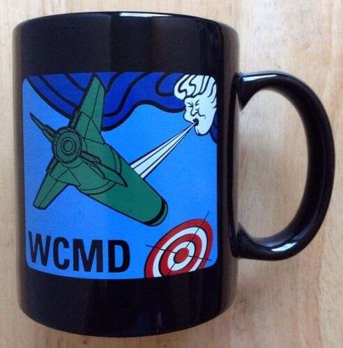 1990s ALLIANT TECHSYSTEMS WIND CORRECTED MUNITIONS DISPENSER WCMD COFFEE MUGOther Militaria - 135