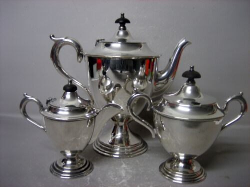 Paramount E.P.N.S A1 warranted hard soldered coffee / tea set