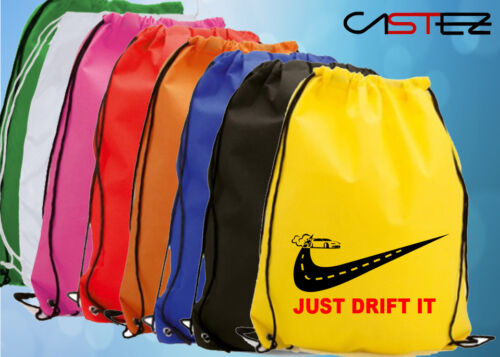 just drift it jdm racing rally coche wrc saco mochila bolso bolsa deporte motor
