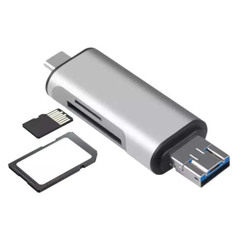 Card Reader Adapter FOR Macbook Samsung Android USB 2.0 Type C USB-C Micro TF SD