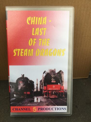 CHINA - LAST OF THE STEAM DRAGONS  - RAILWAYS VIDEO - VHS