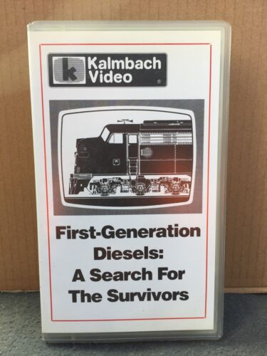 FIRST GENERATION DIESELS- A Search For The Survivors - RAILWAY VIDEO - VHS