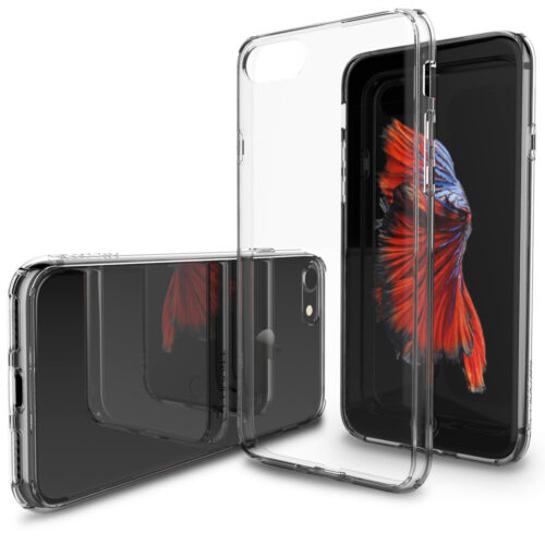 Luvvitt Clear View Hybrid Case for iPhone 8 - Crystal Clear