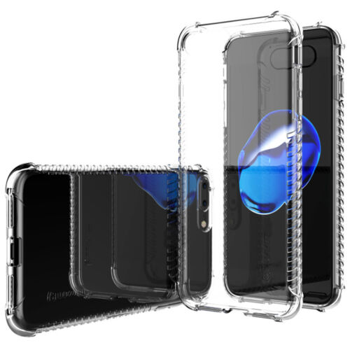 Luvvitt Clear Grip Case for iPhone 8 Plus - Crystal Clear