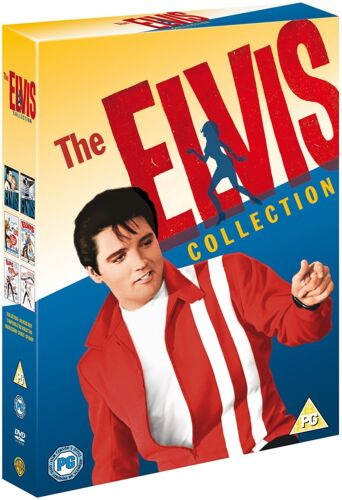 """THE ELVIS PRESLEY 6 FILM COLLECTION 6 DISC DVD BOX SET R4 """"NEW&SEALED"""""""