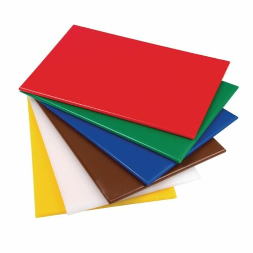 Hygiplas Standard Low Density Chopping Board Cutting Kitchenware Restaurant <br/> Commercial Grade✓5 Colours & 2 Sizes✓Price Match✓