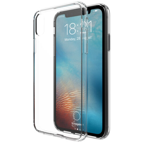 Luvvitt Clear View Hybrid Case for iPhone X / XS - Crystal Clear