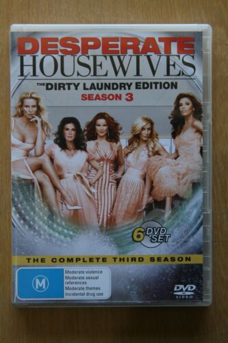 Desperate Housewives : Season 3 (DVD, 2007, 6-Disc Set)      Preowned (D213)