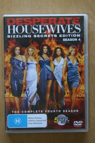 Desperate Housewives : Season 4 (DVD, 2008, 5-Disc Set)   Preowned (D213)