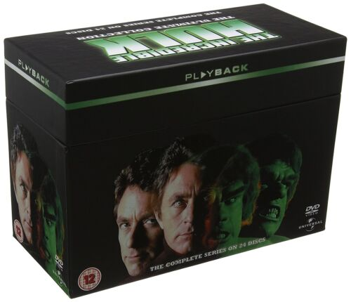 THE INCREDIBLE HULK COMPLETE SERIES COLLECTION 24 DISC DVD BOX SET R4 NEW&SEALED