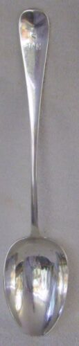 Colonial George Butler Sheffield sterling silver stuffing basting serving spoon