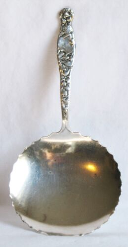 Heraldic Whiting Sterling Silver Bon Bon Server Spoon