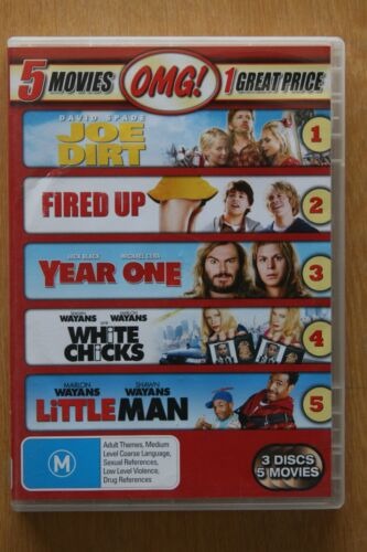 Fired Up! / Joe Dirt / Little Man / White Chicks / Year One (D   Preowned (D217)