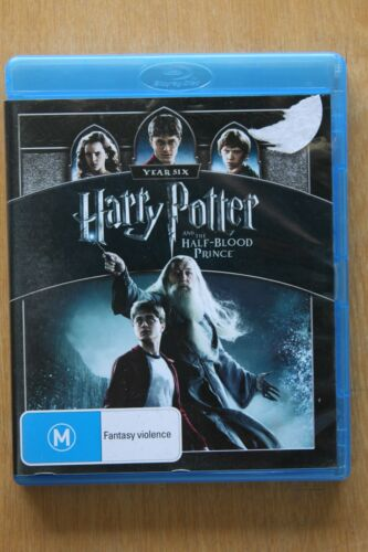 Harry Potter And The Half-Blood Prince (Blu-ray, 2009, 2-Disc    Preowned (D219)