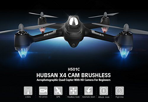 Hubsan X4 H501C Drone Brushless RC Quadcopter with 1080P HD Camera RTH GPS RTF