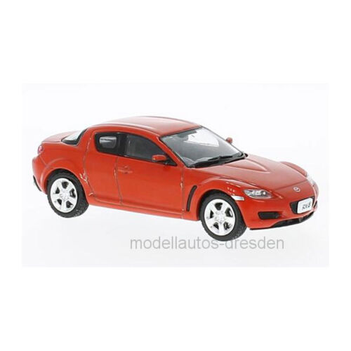 First : 43 F43029 Mazda RX-8 Rouge Maßstab 1:43 Maquette de Voiture Neuf !°